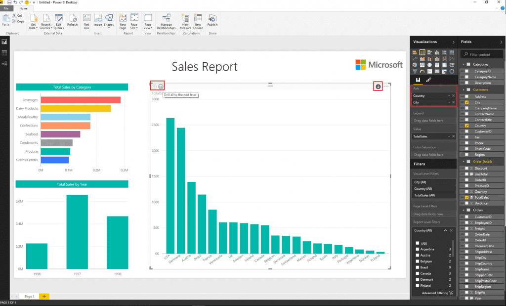 power bi tool shadow metrics